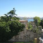 View from our terrace to Topkapi