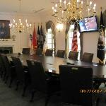 Replica of the Presidents Cabinet Room