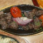 Beef Tenderloin Shish Kebab, Lebanese style