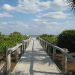 Just one of the walk-ways to the beach