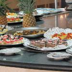 desserts au buffet