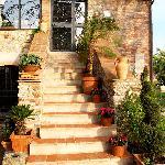 La reggia scale esterne