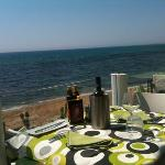 terrazza sul mar mediterraneo
