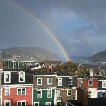 View from third floor deck at Cantwell House B&B St'John's NL