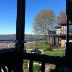 each room has a porch or balcony overlooking the Mississippi River
