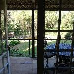 View to verandah