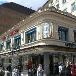 Il ristorante, lato viktualienmarkt.