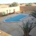 Oasis en medio del desierto