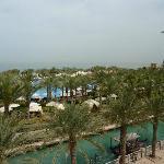 Pool from main restaurant - Al Qasr