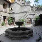 The courtyard in Casa Manila