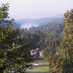 View of Lake Lure and Bald Mountain