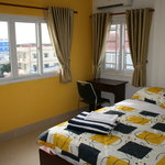 Beautiful Rooms with Desk and Chair, View to Cantho University