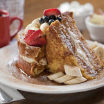 Our Stuffed Frenchtoast, Its bigger than it looks!