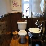 one of the bathrooms (just toilet and sink)
