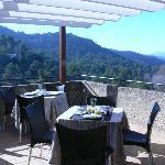 Terraza vistas Montserrat