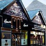 Hames Chocolate Cafe - Outside