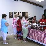 Marco Shores residents, Lady in red is 105 years old.