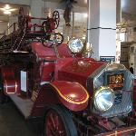 One of the many old fire trucks