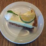 Lime pie -- try it -- you will not forget it easily