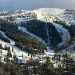 Whitefish Ski Resort, right out the door from your room!