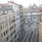 View to Piazza del Popolo