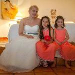 My daughter & her flower girls