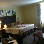 Executive suite was spacious and very comfortable. Worth upgrading!
