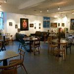The Chapel Arts Cafe Interior