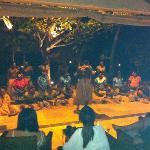 Fijian traditional dancing