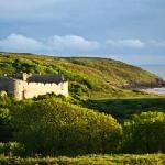 View from Manorbier Bed and Breakfast