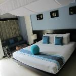 Double room with view, balcony second floor
