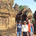 Banteay Srei temple with my private tour