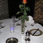 une table pour les amoureux