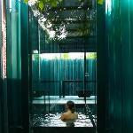 Baño en el pabellón