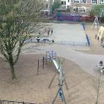 The playground, fun to watch children play