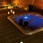Soncna hisa - Outdoor jacuzzy