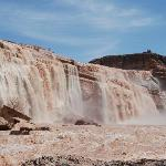 Grand Falls at just under 1000cfs in April 2010