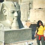 Tempio di Amon: testa Ramses II