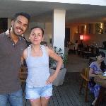 avec Carlos, un membre du staff extrêmement gentil