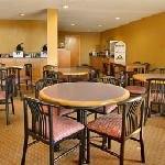 Enjoy breakfast in our open breakfast area