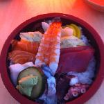 Chirashi Sushi - for ca. 10€! Amazing!