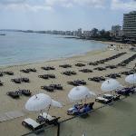 hotel private beach