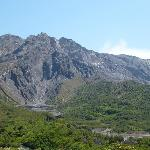 volcano from Yunohira Observatory