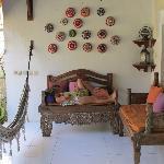 Hammok and lounge chairs