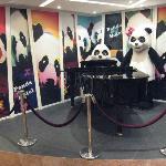 ホテル名にもなっているパンダ
