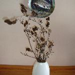 twigs in a vase