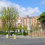Exterior view from Simmonscourt Road