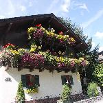Nice views and houses in the village of Uttendorf