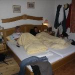 Double bed in room 202