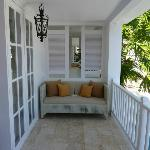 Spacious Balcony of our Suite